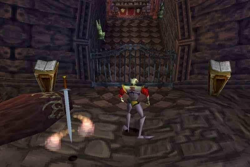 medievil, uscito su PS1 nel 1998