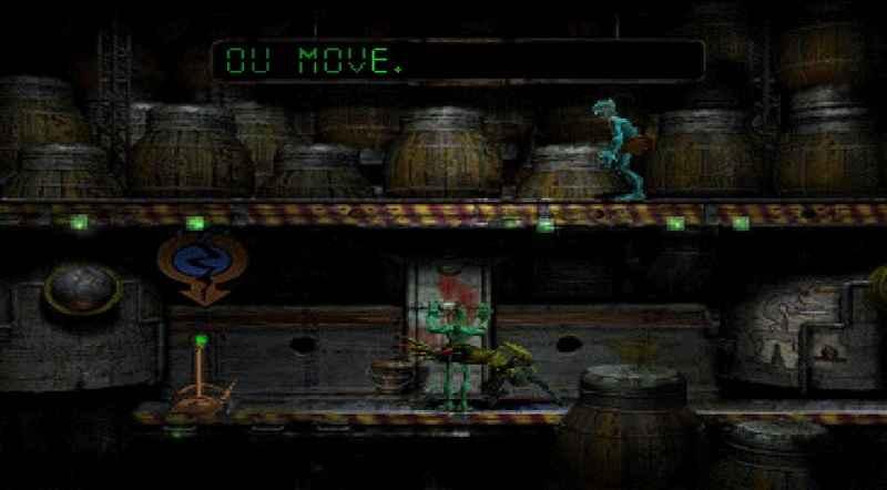 oddworld: abe's oddysee, rilasciato nel 1997