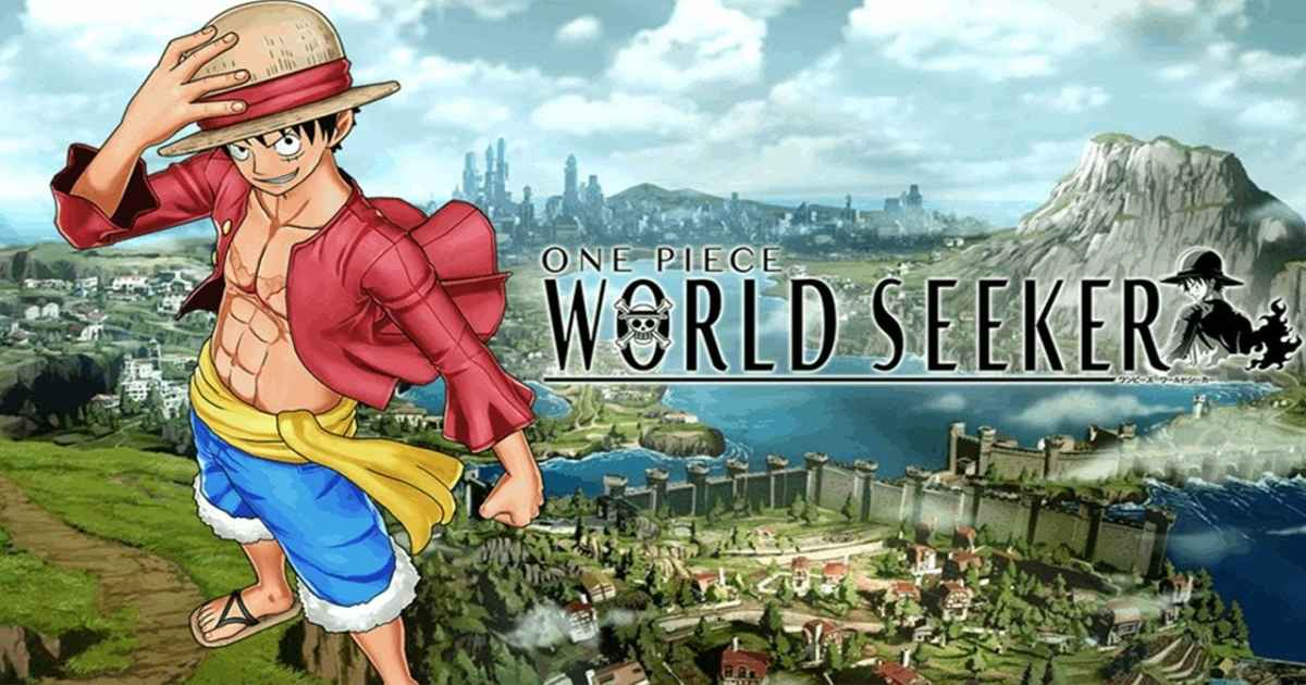 Artwork per la title screen di One Piece World Seeker