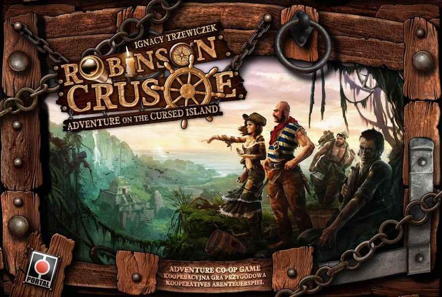 Robinson crusoe scatola seconda edizione