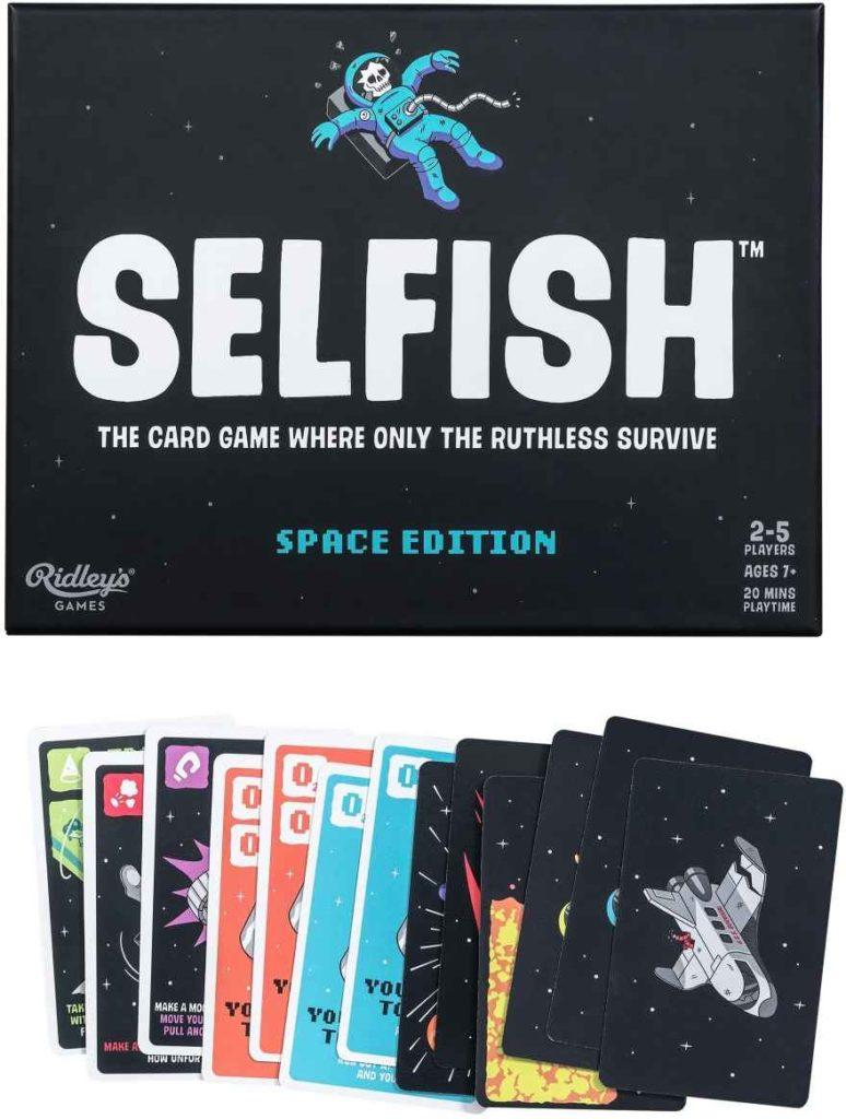 selfish space edition doctorgadget gioco carte recensione