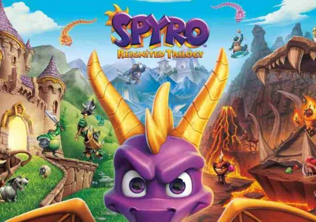 Spyro Reignited Trilogy Cover Image