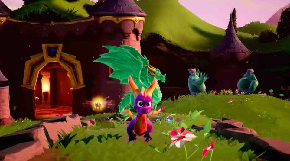 Spyro Reignited Trilogy gameplay