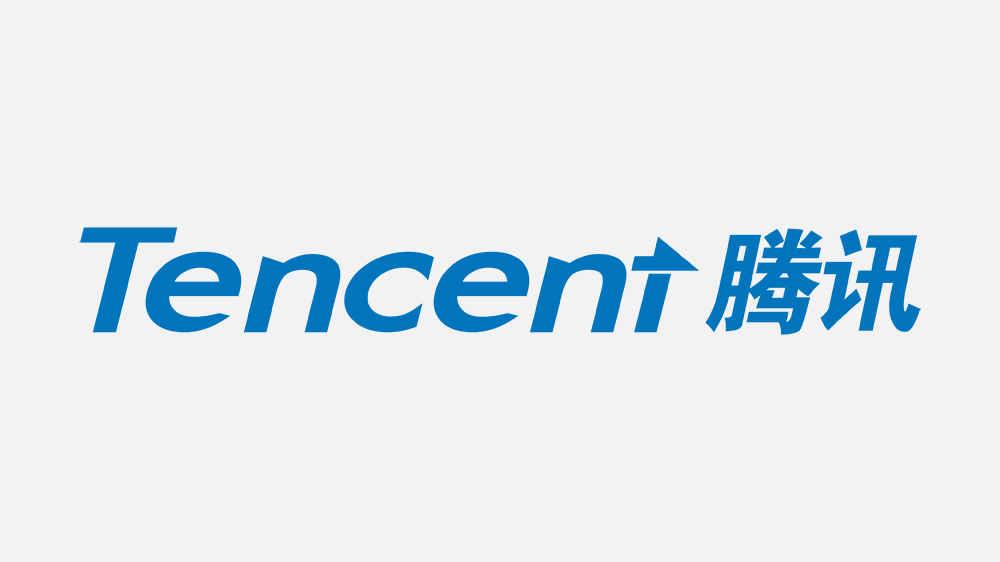 Logo della compagnia cinese Tencent, leader orientale nel settore delle telecomunicazioni