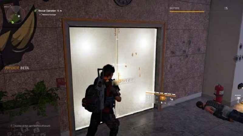 the division 2, guida attività operazione di salvataggio