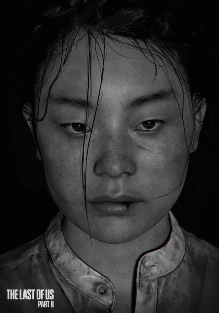the last of us 2 yara character model