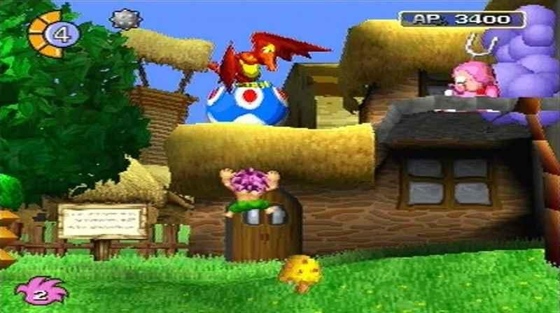 Tombi, uscito su PS1 nel 1997