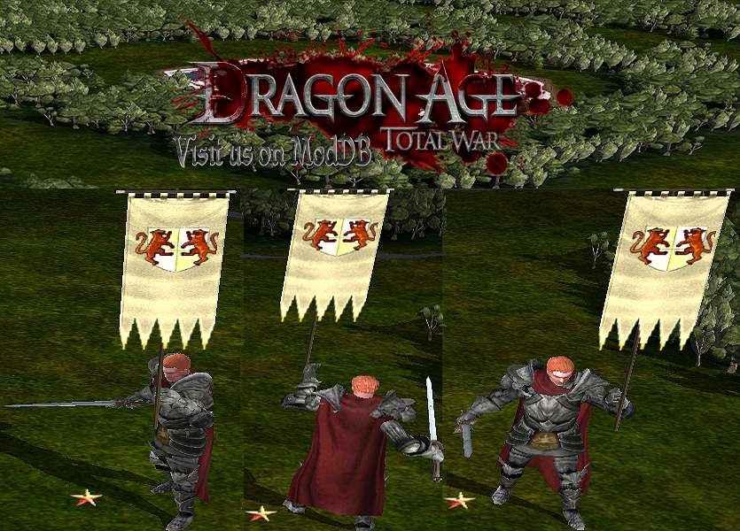 total war dragon age screenshot modello poligonale