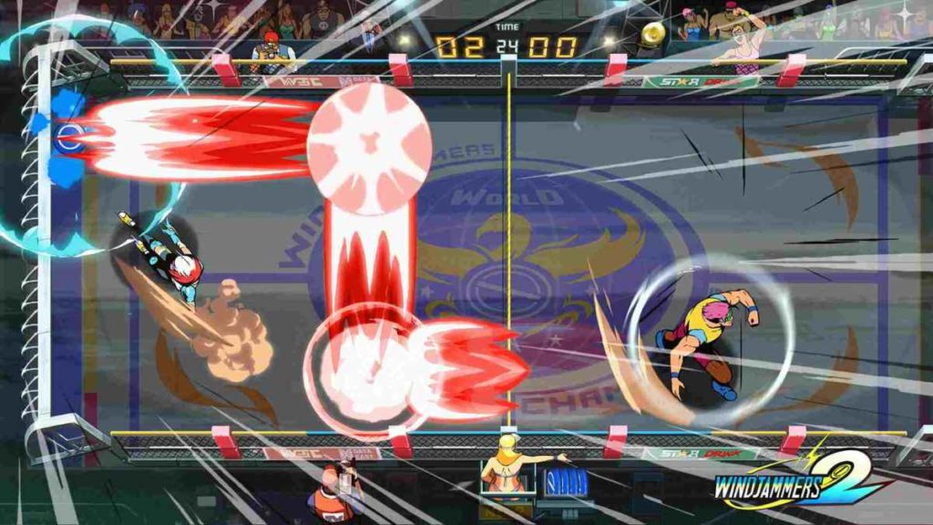 windjammers 2 gameplay
