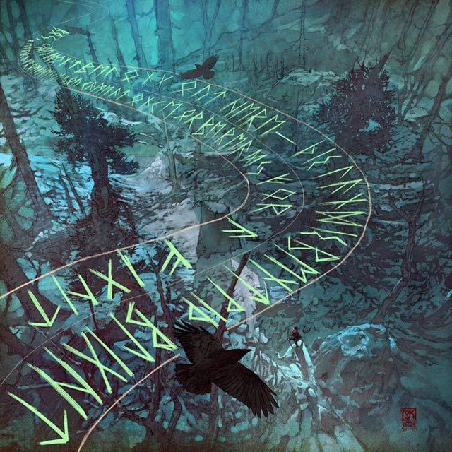 Atreus esplora la foresta, sotto lo sguardo vigile di alcuni corvi. Forse gli Huginn e Muninn di Odino?