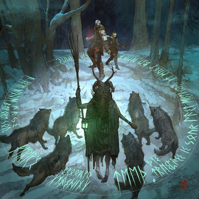 Kratos e Atreus affrontano il redivivo e il branco di lupi