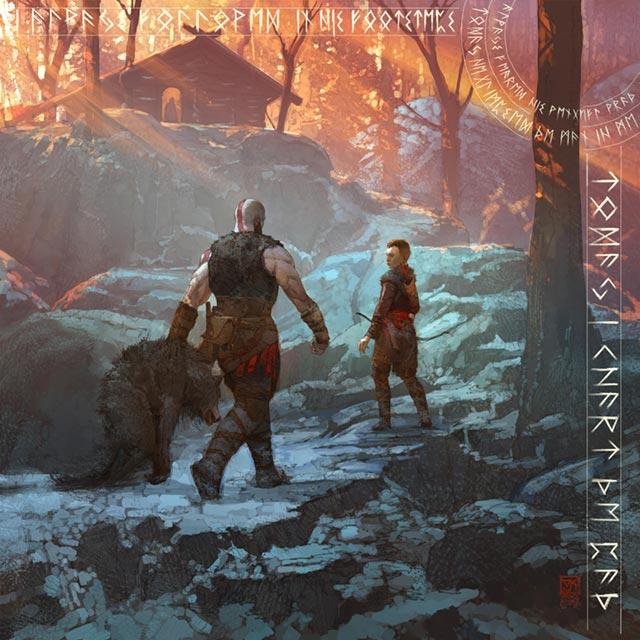 Kratos e Atreus tornano a casa, dove trovano ad aspettarli la compagna di Kratos nonché madre di Atreus