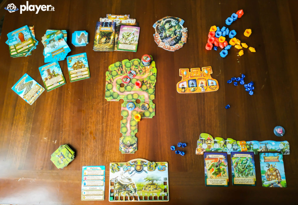 age of towers setup giocatore singolo