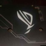 Asus ROG RTX 2080 Ti OC dettaglio led