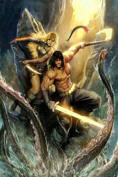 Combattimenti di Savage Worlds: Beasts & Barbarians