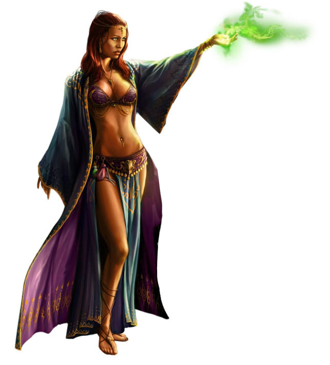 Danzatrice Orientale Tentatrice di Savage Worlds: Beasts & Barbarians