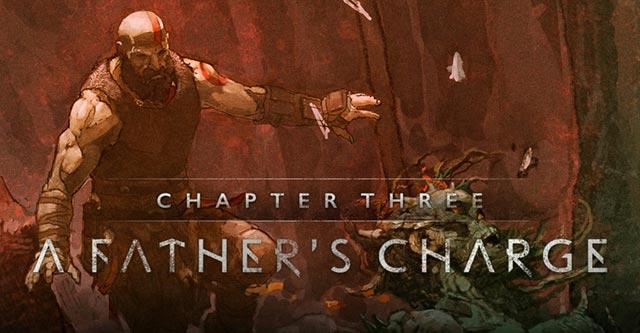 Capitolo tre di God of War: A Call from the Wilds - la carica di un padre