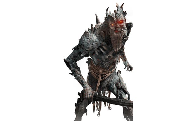 Un Draugr come appare in God of War (2018)