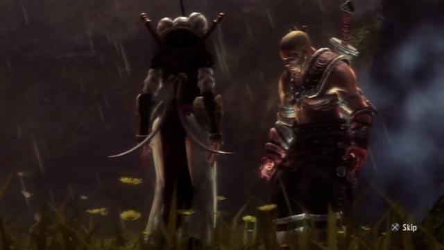 Freya e il suo campione Skarin