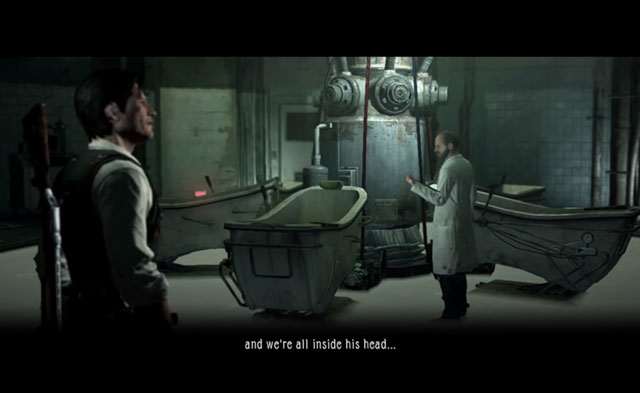 Il dottor Marcelo Jimenez in The Evil Within