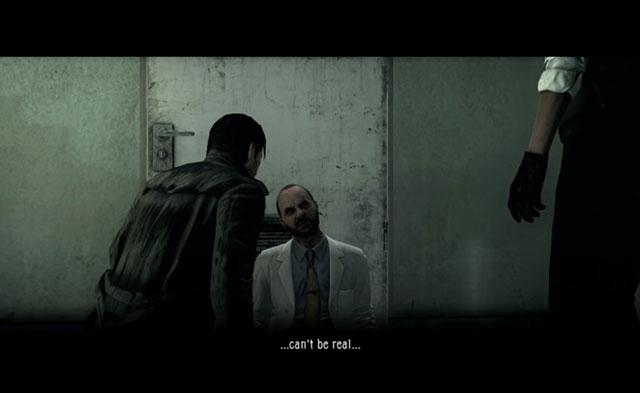 Il primo incontro con il dottor Jimenez in The Evil Within