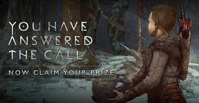 L'immagine finale di God of War - A Call from the Wilds