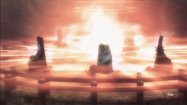 Il potere di Freya purifica l'area circostante dalla presenza dei non-morti