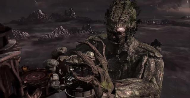 Il ritorno di Gaia / Gea in God of War 3