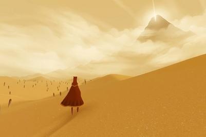 Journey, la poesia in movimento nei deserti minimali firmati Thatgamecompany