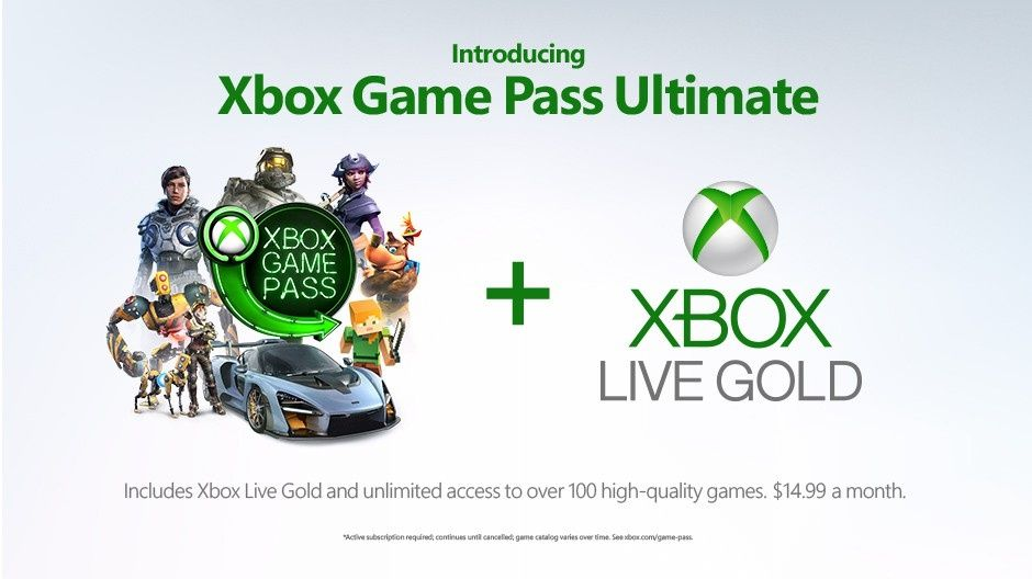 Xbox Game Pass Ultimate è la tanto attesa fusione tra Game Pass e Gold