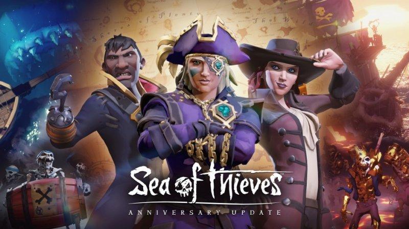 Dopo un anno dal lancio, Sea of Thieves si aggiorna con tantissimi contenuti gratuiti
