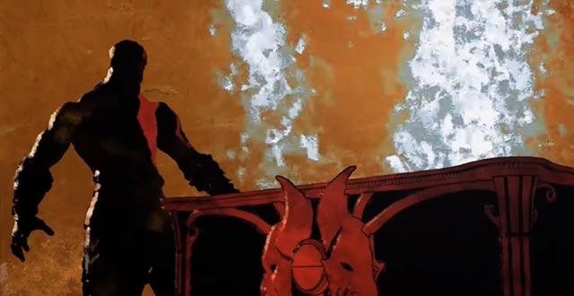 Kratos assorbe la Speranza nel Vaso di Pandora