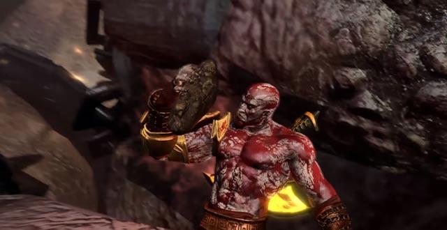 Kratos recupera la Pietra di Omphalos
