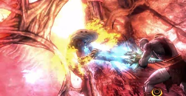 Kratos trafigge Zeus e il cuore di Gaia