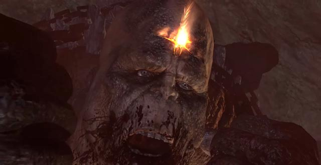 La morte del Titano Crono in God of War 3