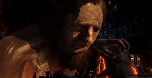La morte di Efesto in God of War 3