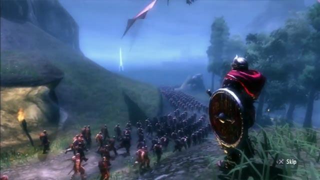 L'armata vichinga in Viking: Battle for Asgard