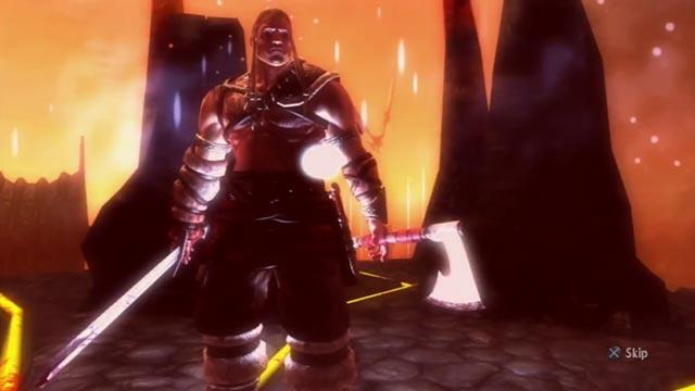 L'eroe di Viking Battle for Asgard