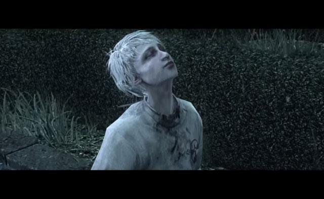 Il personaggio di Leslie come appare in The Evil Within