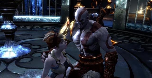 L'incontro fra Kratos e Pandora