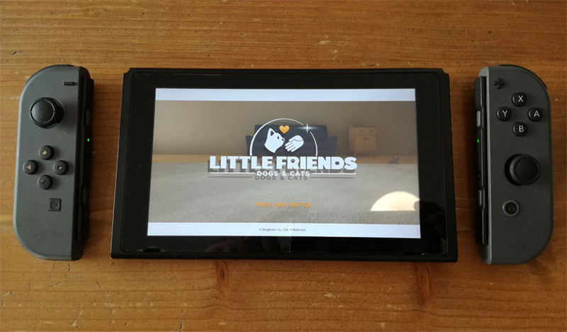 Little Friends Dogs & Cats, Nintendo Switch, Anteprima, Nintendogs per nintendo switch, pet sim 2019, crazy cat cafè milano