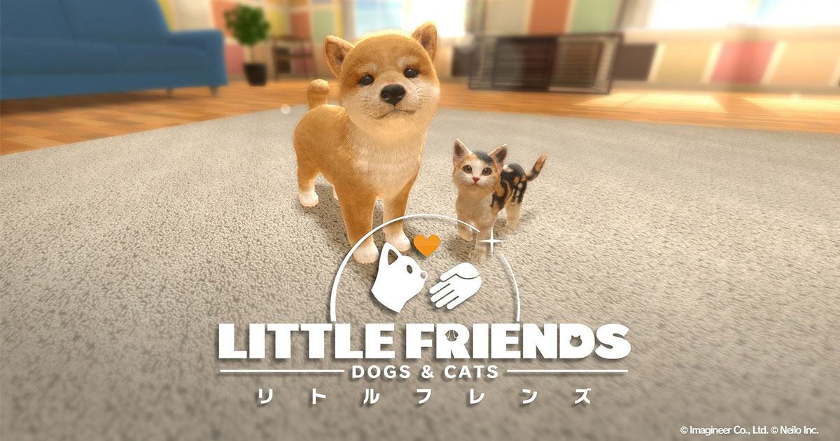 Little Friends Dogs & Cats, Nintendo Switch, Anteprima, Nintendogs per nintendo switch, pet sim 2019