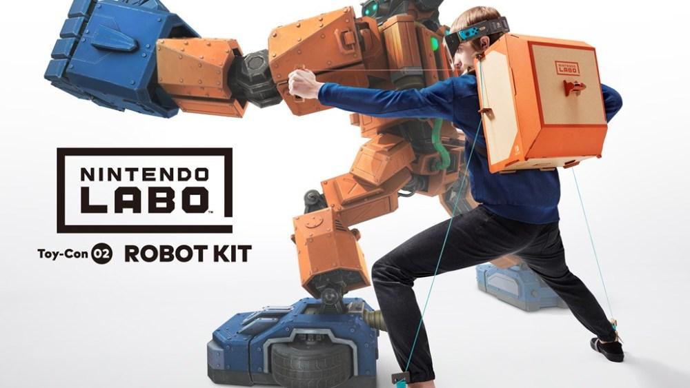 Nintendo Labo Robo Kit