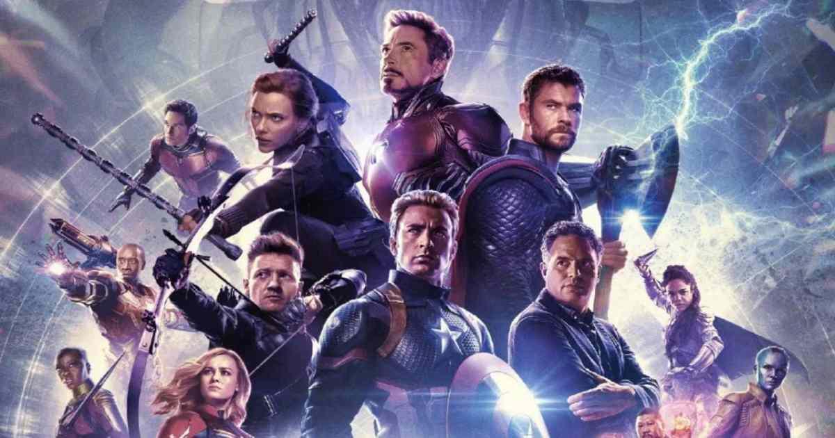 Locandina del film Avengers Endgame