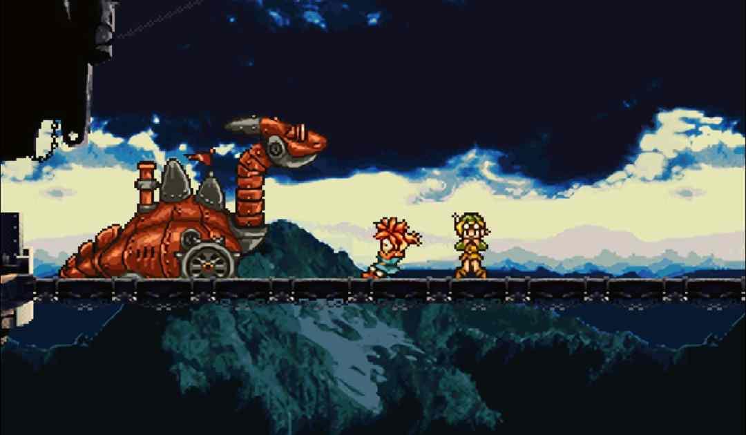 Screenshot da una boss fight iniziale di Chrono Trigger