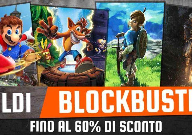 Immagine promozionale per il Saldi Blockbuster Nintendo 2019