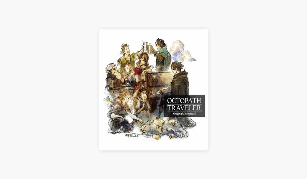 Copertina dell'album della soundtrack di Octopath Traveler