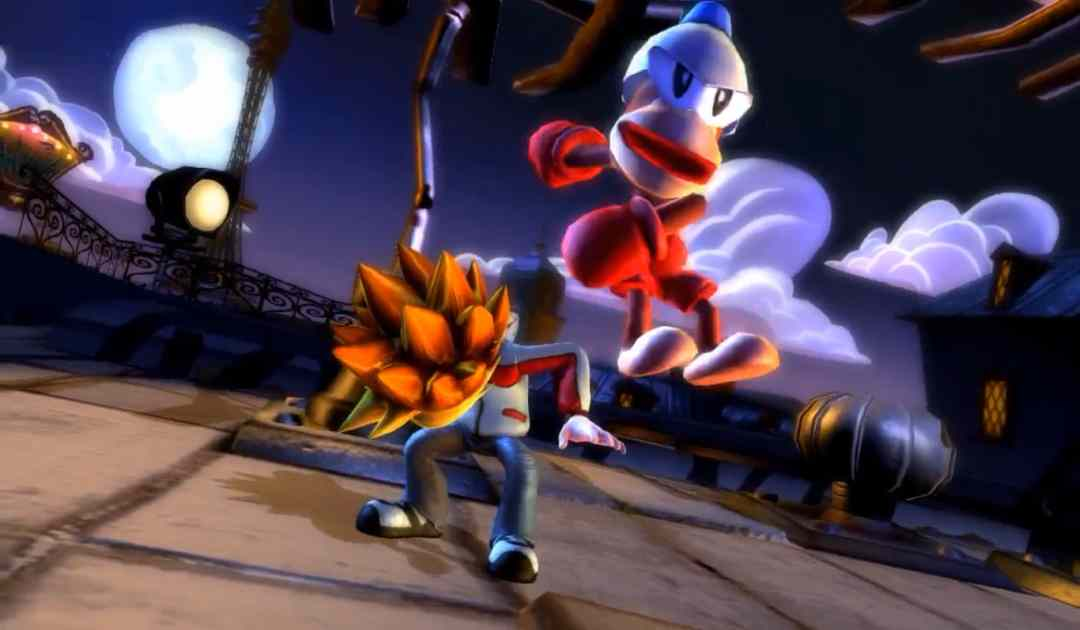 Screenshot da Playstation All Stars