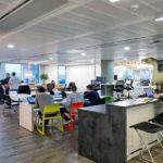 Fotografia degli uffici londinesi di Square Enix