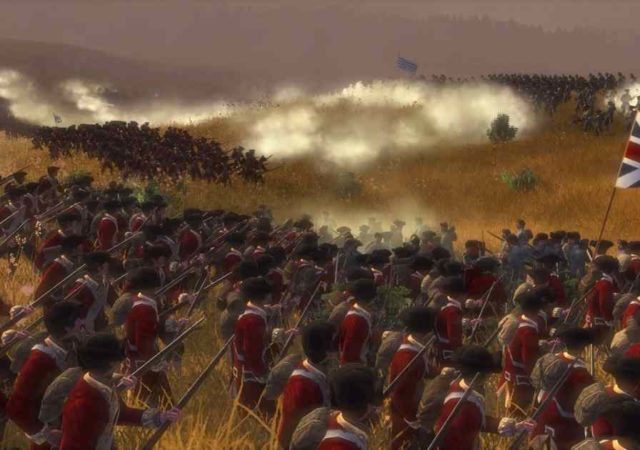 Screenshot tratto da una battaglia campale su Empire: Total War